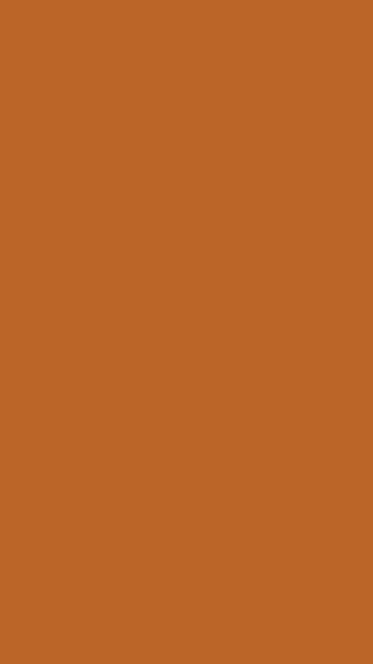 750x1334 Ruddy Brown Solid Color Background
