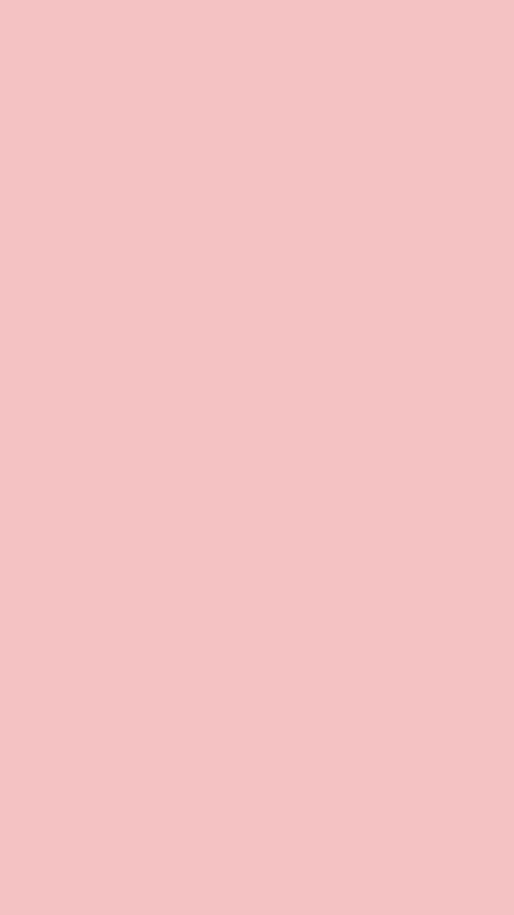 750x1334 Tea Rose Rose Solid Color Background