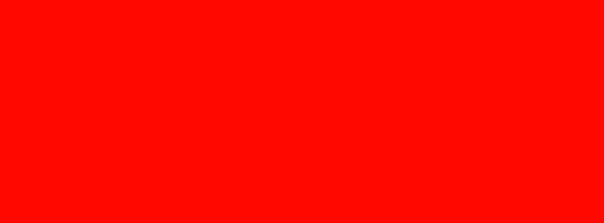 851x315 Candy Apple Red Solid Color Background