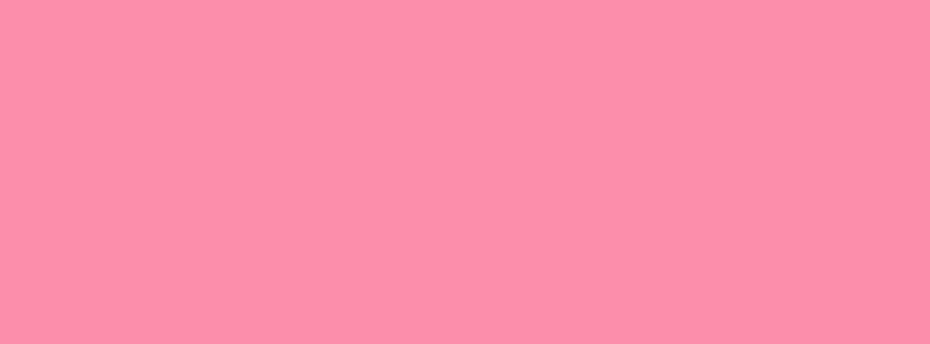 851x315 Flamingo Pink Solid Color Background