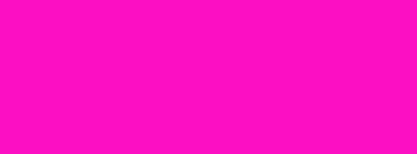 851x315 Shocking Pink Solid Color Background