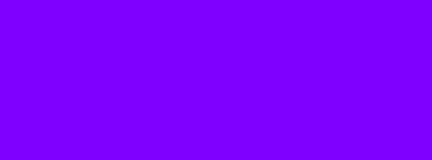 851x315 Violet Color Wheel Solid Color Background