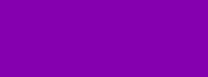 851x315 Violet RYB Solid Color Background